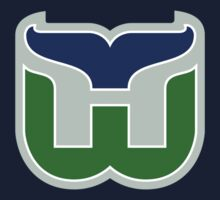 HARTFORD WHALERS HOCKEY RETRO Baby Tee