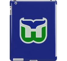 HARTFORD WHALERS HOCKEY RETRO iPad Case/Skin