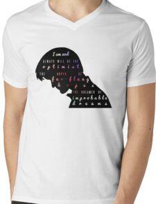 Optimist Mens V-Neck T-Shirt