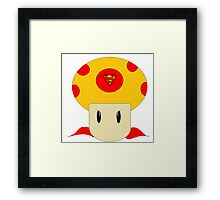 Mushroom of Steel Framed Print