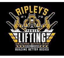Ripley's Power Lifting Photographic Print