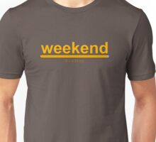Weekend loading! loading bar Unisex T-Shirt