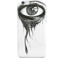 eyeing you... iPhone Case/Skin