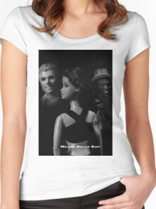 A Plastic World - Million Dollar Baby Women's Fitted Scoop T-Shirt