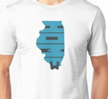 Illinois HOME state design Unisex T-Shirt