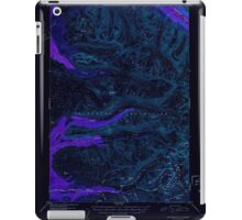 USGS TOPO Map Alaska AK Anchorage D-7 354059 1952 63360 Inverted iPad Case/Skin