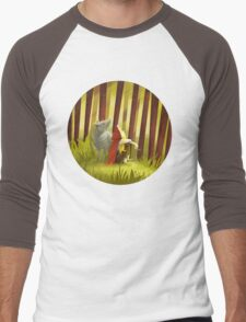 Little Red and the Iron Wolf Men's Baseball ¾ T-Shirt