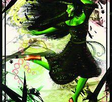 Elphaba Dancing by QuixoticWhimsy