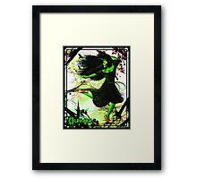 Elphaba Dancing Framed Print