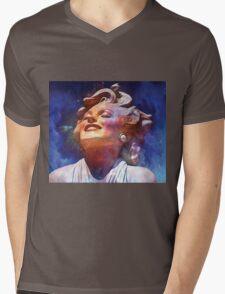 MARILYN ~ PALM DESSERT Mens V-Neck T-Shirt