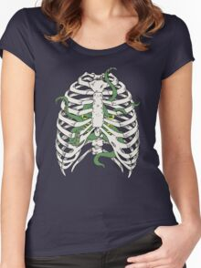 Inner Cthulhu Women's Fitted Scoop T-Shirt