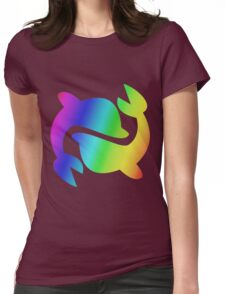 MLP - Cutie Mark Rainbow Special - Sea Swirl Womens Fitted T-Shirt