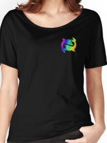 MLP - Cutie Mark Rainbow Special - Sea Swirl V2 Women's Relaxed Fit T-Shirt