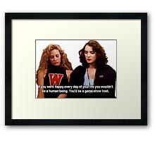 Heather & Veronica Framed Print