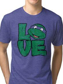 LOVE TURTLES Tri-blend T-Shirt