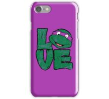 LOVE TURTLES iPhone Case/Skin