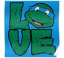 LOVE TURTLES Poster