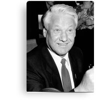 Boris Yeltsin Canvas Print