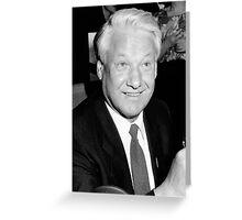 Boris Yeltsin Greeting Card
