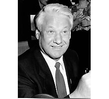 Boris Yeltsin Photographic Print