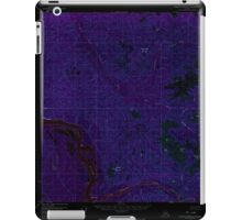 USGS TOPO Map Alaska AK Charley River A-1 354851 1956 63360 Inverted iPad Case/Skin