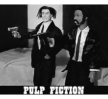 A Plastic World - Pulp Fiction Photographic Print