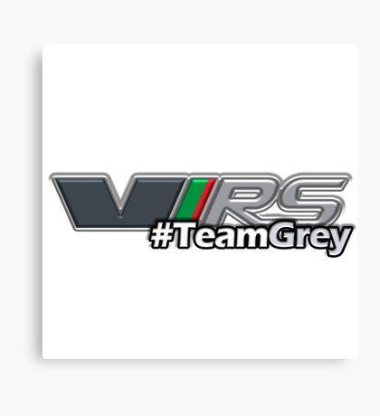 #TeamGrey(3D) Canvas Print