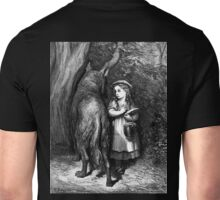 Fairy Tale, Little Red Riding Hood, Gustave Dore, Tales of Mother Goose Unisex T-Shirt