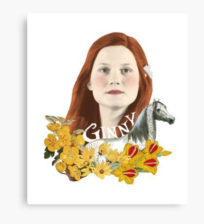 """Ginevra """"Too Cool"""" Weasley Canvas Print"""