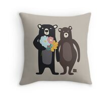 Bärenliebe Throw Pillow