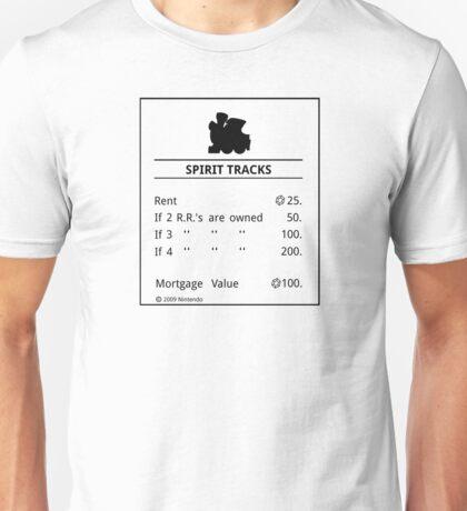 Spirit Tracks Monopoly Unisex T-Shirt