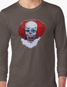 NOT clowning around-wall art Long Sleeve T-Shirt