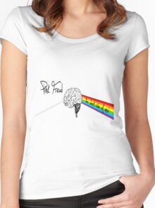 the dark side of mind Women's Fitted Scoop T-Shirt