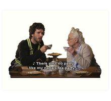 Flight of the Conchords - Tea Party Art Print