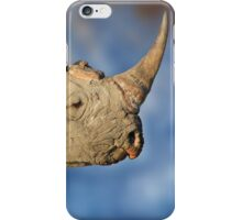 Black Rhino - Rare and Endangered Beauty from Wild Africa iPhone Case/Skin