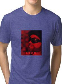 A Plastic World - Leon: The Professional Tri-blend T-Shirt