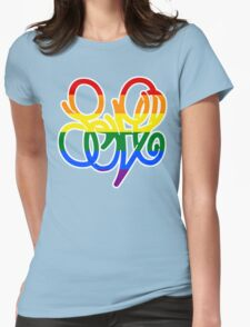 Pride = LOVE Womens Fitted T-Shirt