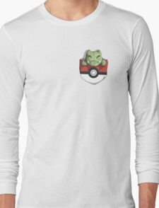 Pocket Substitute (Pokeball) Long Sleeve T-Shirt