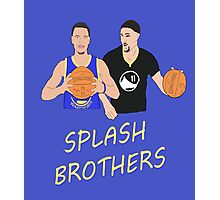 Splash Bros Photographic Print