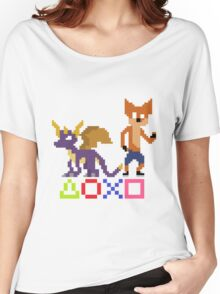 Crash and Spyro Women's Relaxed Fit T-Shirt