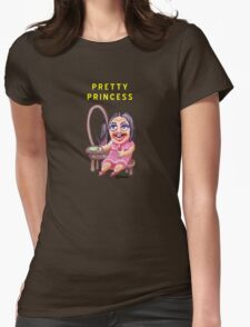 Pretty Princess Womens Fitted T-Shirt