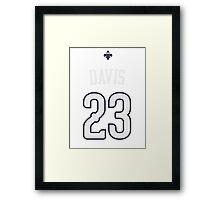 Anthony Davis Framed Print