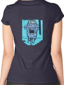 Graffiti Window Treatment Women's Fitted Scoop T-Shirt