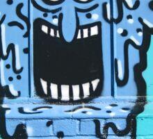 Graffiti Window Treatment Sticker