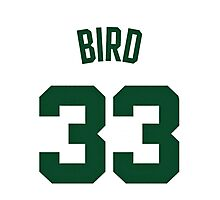 Larry Bird Photographic Print