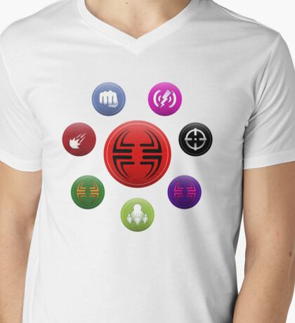 Villainous Archetypes v1 Mens V-Neck T-Shirt