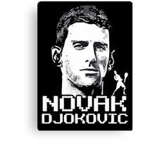 Novak Djokovic - Wimbeldon Canvas Print