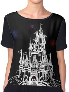 Mouse in Love at Midnight Chiffon Top