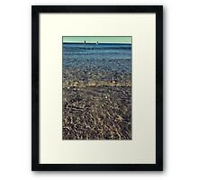 Beach Waves Framed Print