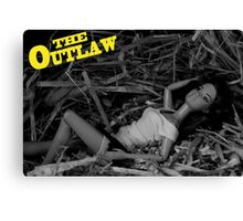 A Plastic World - The Outlaw Canvas Print
